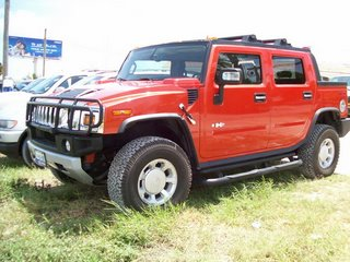 Hummer H2 rent red