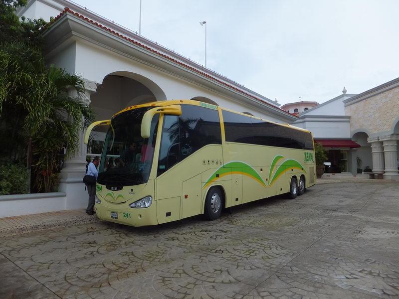 Bus rent for transfer Playa del Carmen Riviera Maya