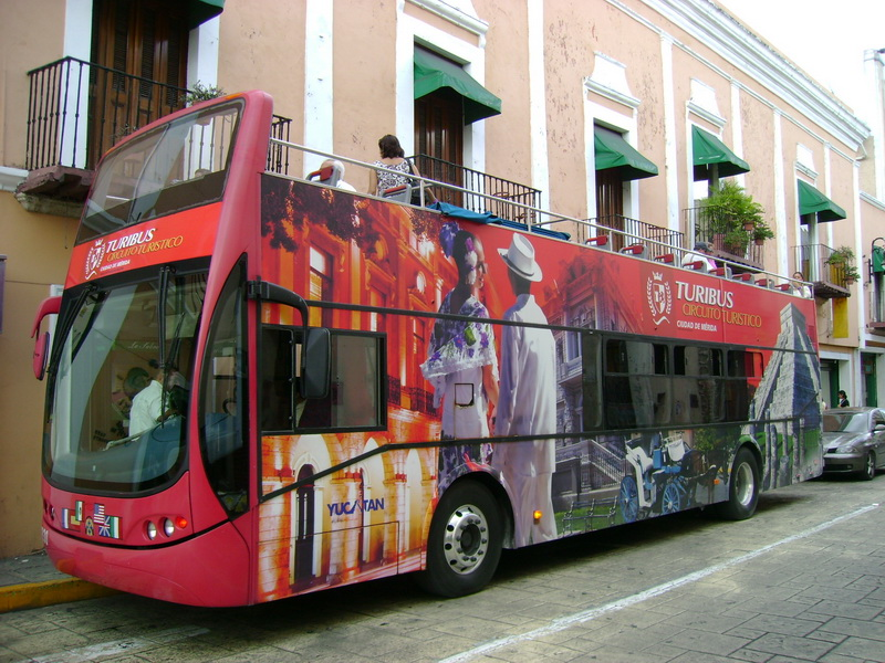 Merida paseo en BUS
