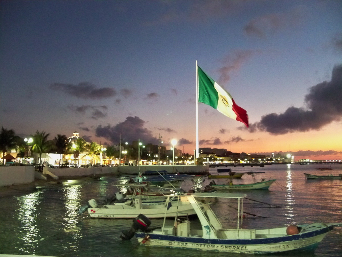 Isla Cozumel twillight