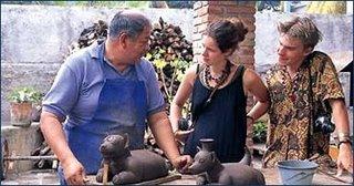 Mexican handicraft in Playa del Carmen