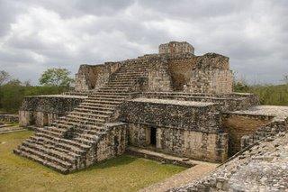 Ek Balam, Yucatan. A powerful Prehispanic Mayan city.