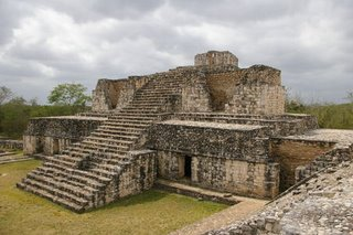 Ek Balam, Yucatan. A powerful Prehispanic Mayan city.