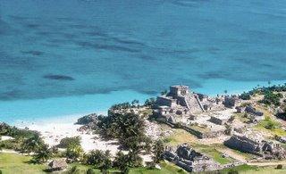 Tulum Hotel zone at Riviera Maya
