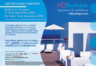 Expo Boutique hotels 2008