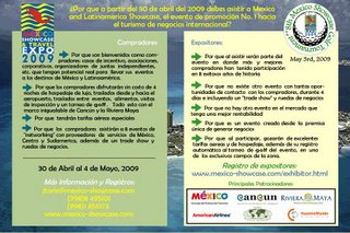 Mexico meetings incentive tourism expo showcase