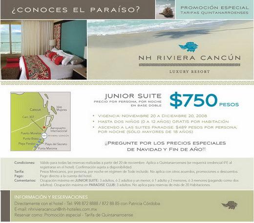 NH Riviera Cancun Hotel Puerto Morelos Riviera Maya