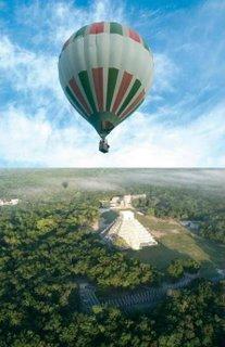 Chichen Itza Balloon fly tour rent