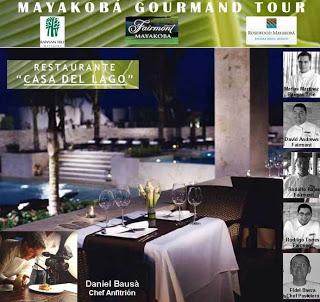Restaurant at Mayakoba present gourmet tour