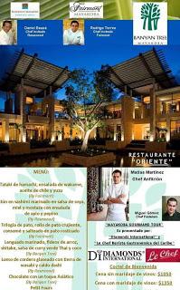 Oriente Restaurant at Bayan Tree Maya Koba