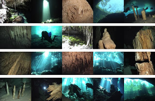 What is a Cenote Diving Caverns snorkel underworld