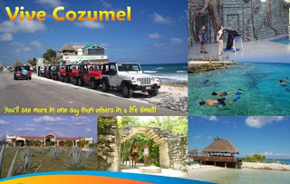 Cozumel Jeep Tour for Cruise Passengers arriving in Carnival cruises or Royal Caribbean