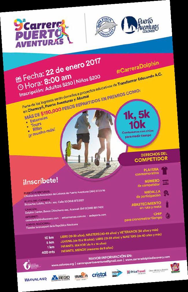 Carrera 5K 10K Puerto Aventuras 22 de Enero